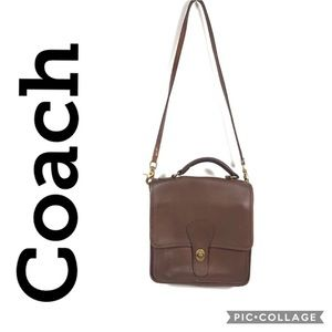 Coach Station crossbody messenger bag purse 2807
